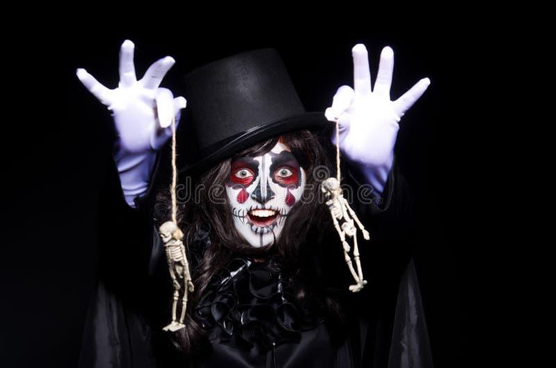 Download Monster with skeleton stock image. Image of horror, devil - 34664867