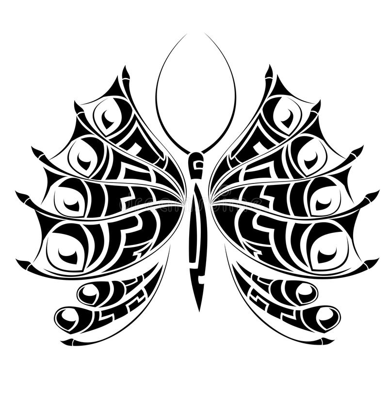 Download Monster tattoo batterfly stock vector. Illustration of icon - 13378339