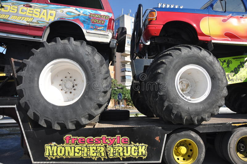 Download Monster truck 4x4 editorial stock image. Image of dirt - 22190414