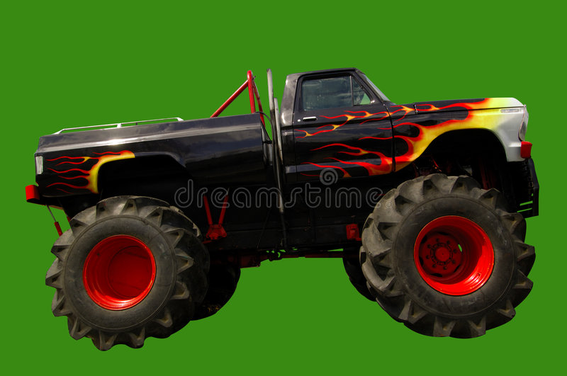 Monster Truck 4x4 royalty free stock photography