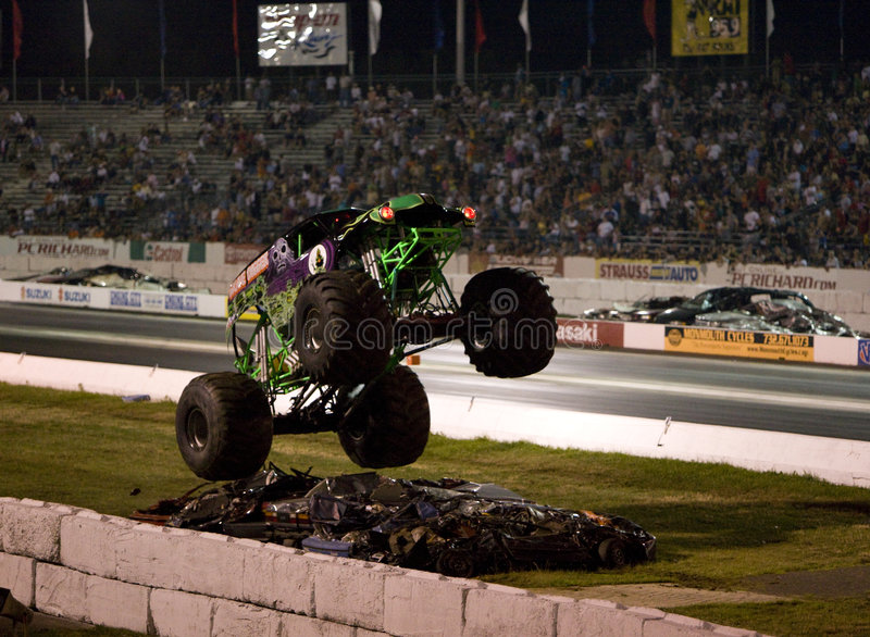 Monster truck royalty free stock photo