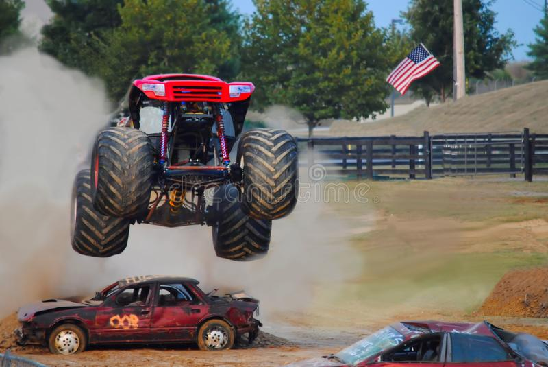 Monster truck foto de stock royalty free