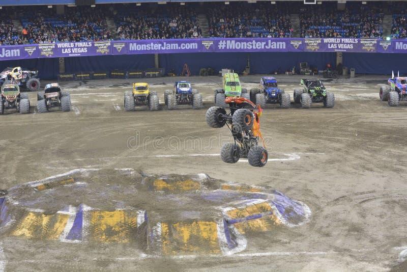 Monster truck imagen de archivo