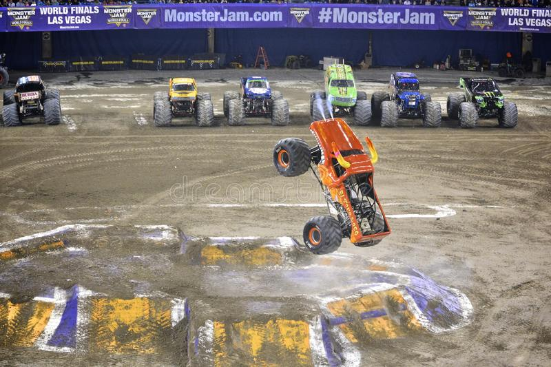Monster truck imagem de stock royalty free