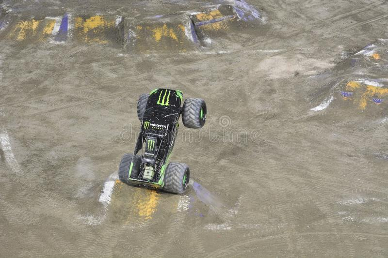 Monster truck fotografia de stock royalty free