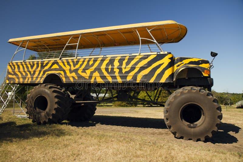 Monster truck do citrino de Florida fotografia de stock royalty free