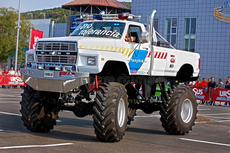 Monster Truck Showdown 01 royalty free stock image