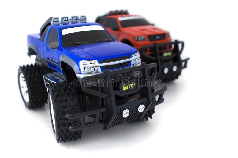 Monster Trucks royalty free stock photos