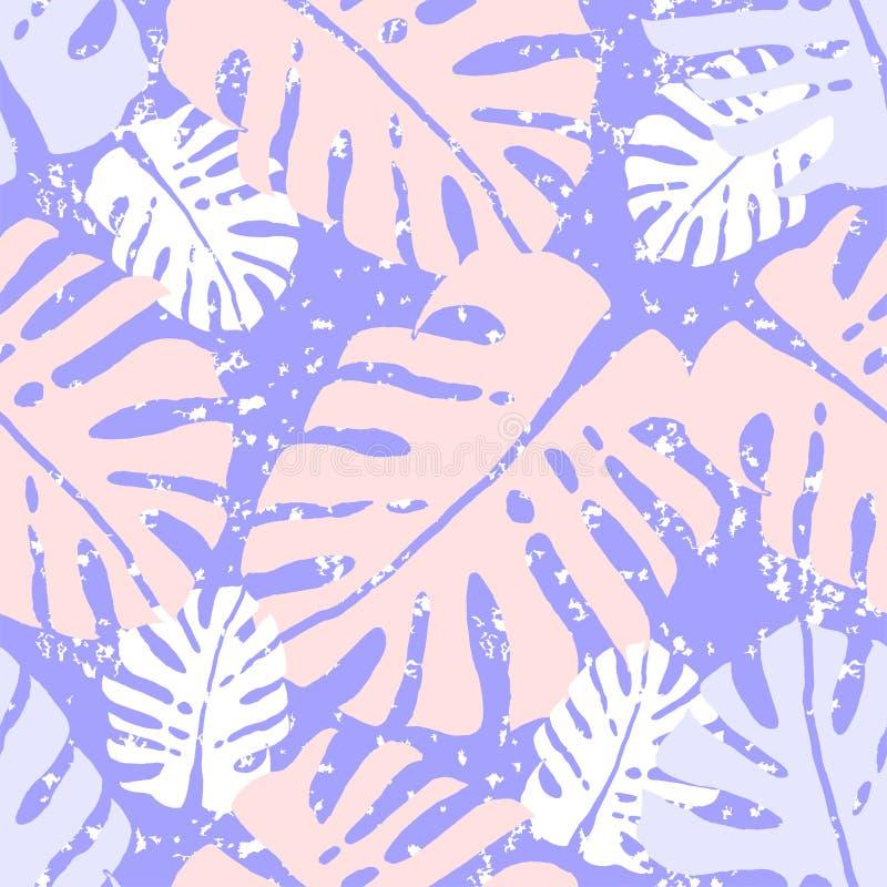 Monstera tropical ilustração do vetor