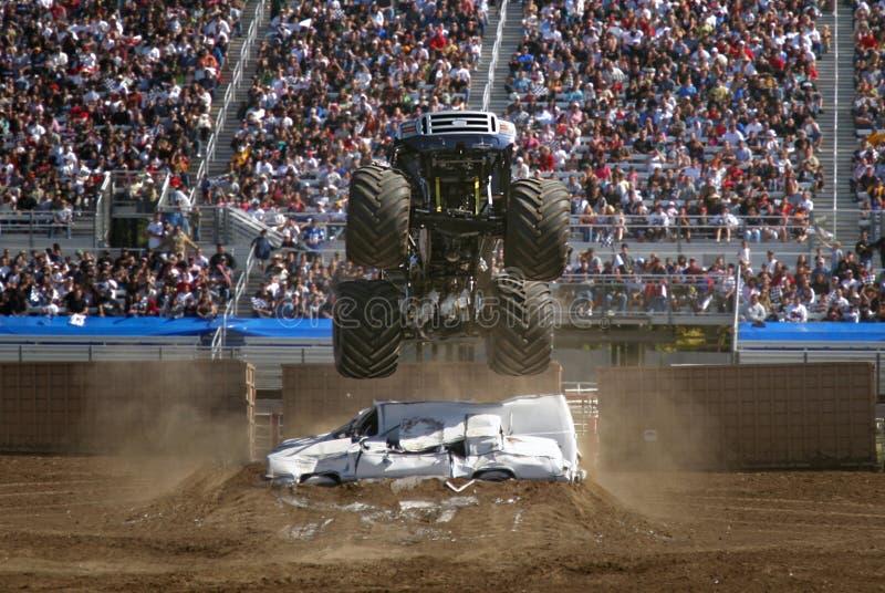 monsterlastbil för luft 2 arkivfoto