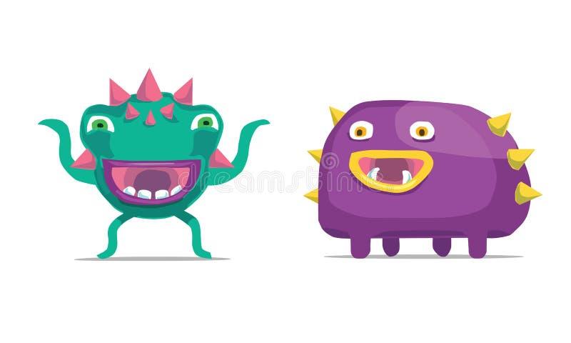 monsters stock afbeeldingen