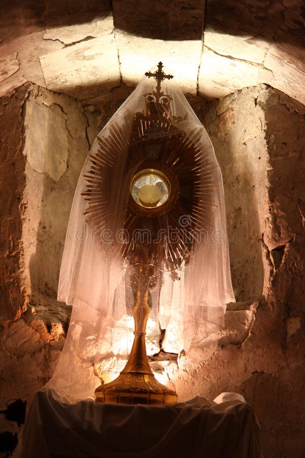 monstrance photo libre de droits
