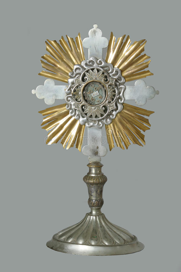 monstrance stock fotografie