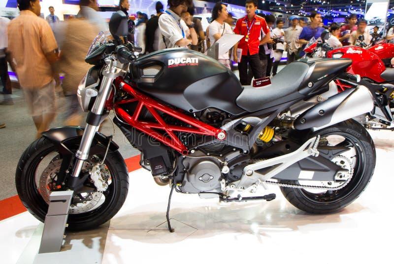 Monstre 795 de Ducati sur l'expo internationale de moteur de la Thaïlande image stock