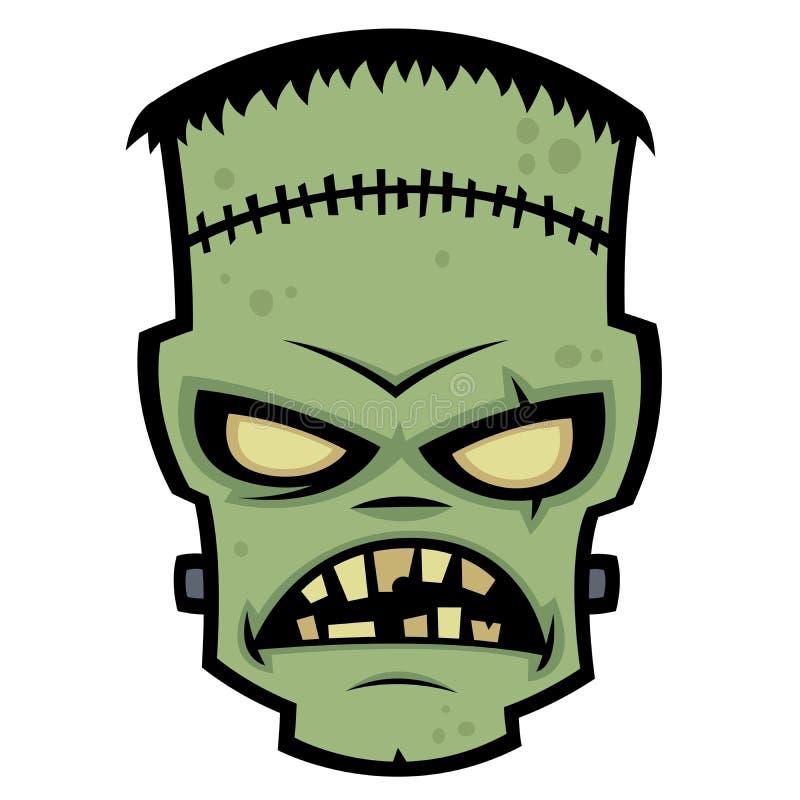 Monstre de Frankenstein illustration de vecteur