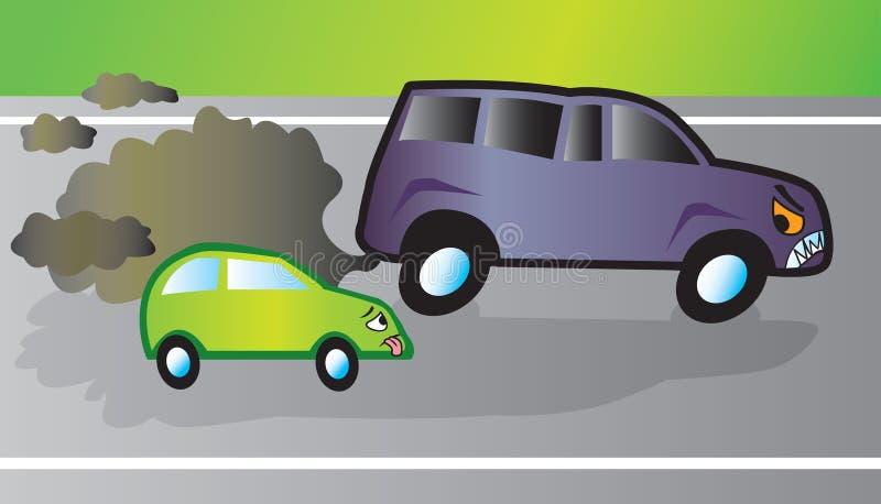 Monstre SUV illustration de vecteur