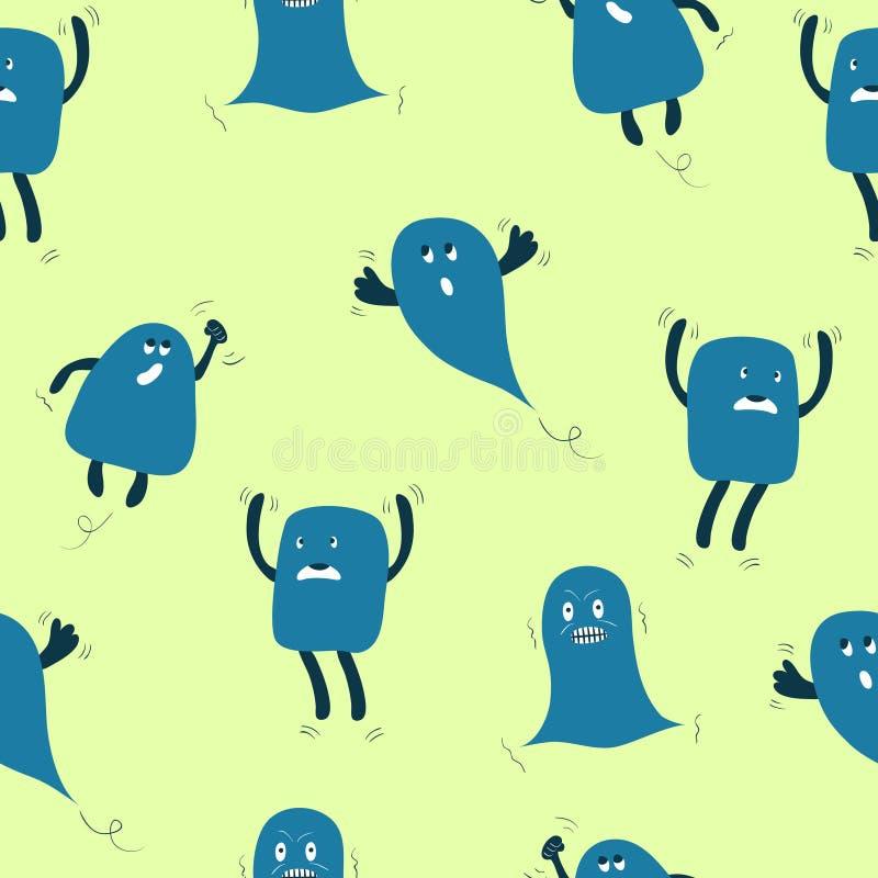 Download Monstres sans joint illustration de vecteur. Illustration du imagination - 56475787
