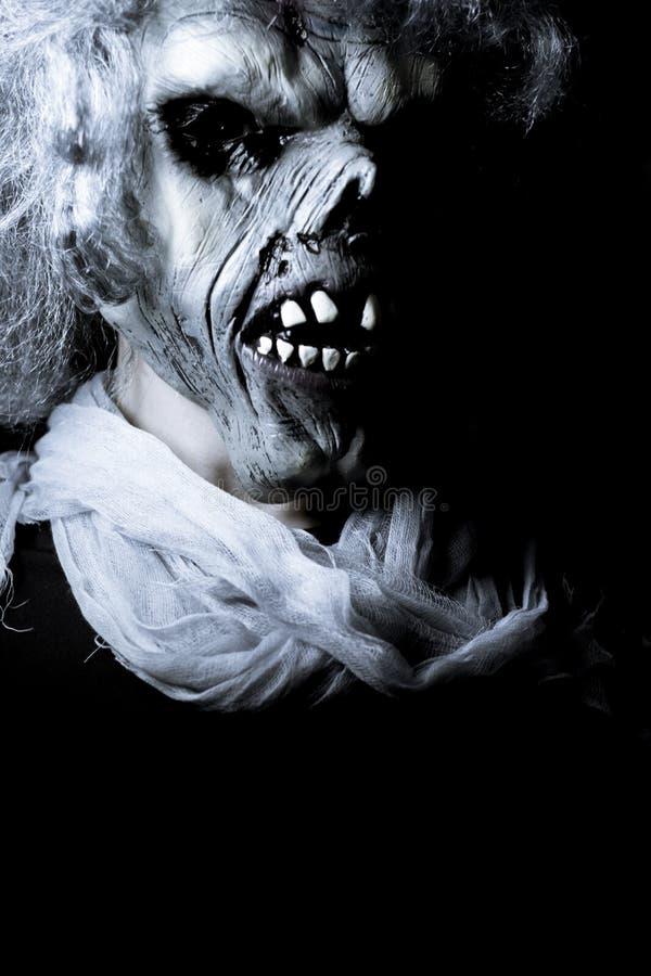 Monstro de Dia das Bruxas undead imagens de stock royalty free