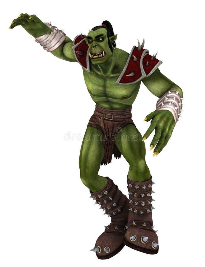 Monstro 2 de Orc ilustração do vetor