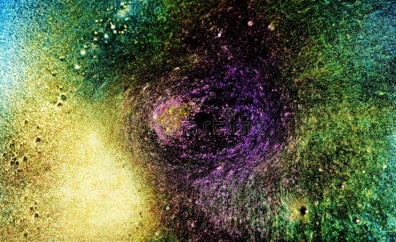 Monstro do buraco negro do universo fotografia de stock royalty free