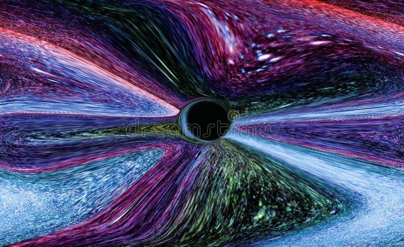 Monstro do buraco negro do universo fotos de stock