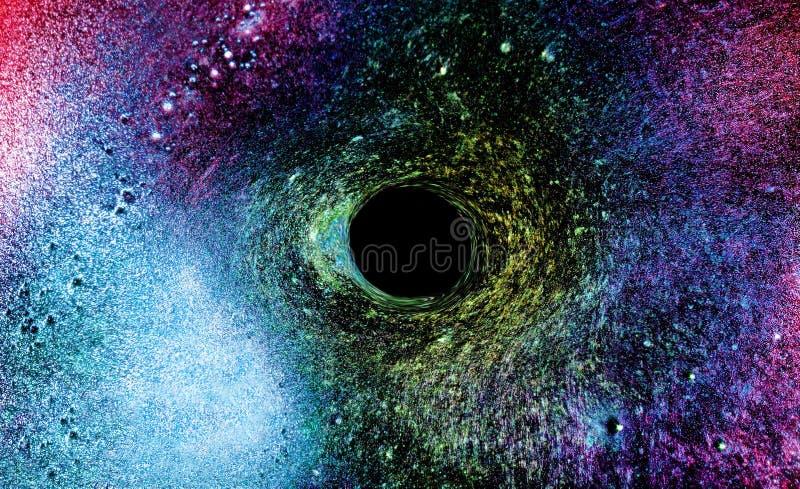 Monstro do buraco negro do universo fotos de stock royalty free