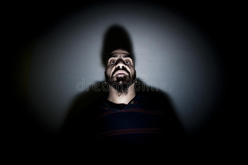 Download Monstrous Man With Long Teeth Stock Image - Image: 17287505