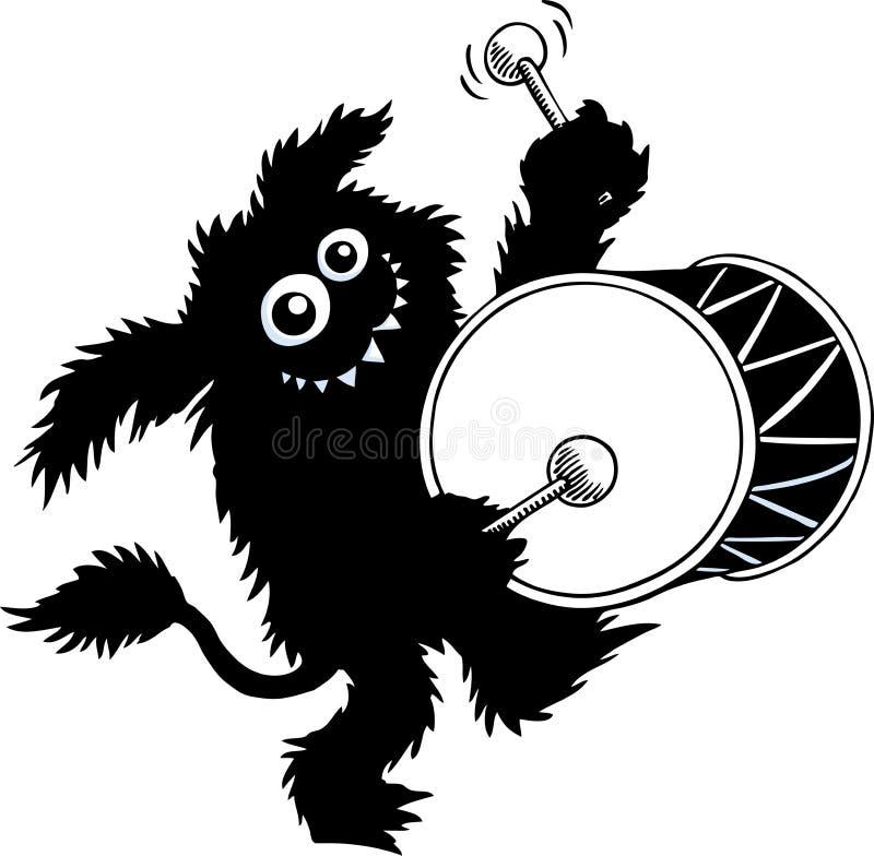 Monstruo libre illustration