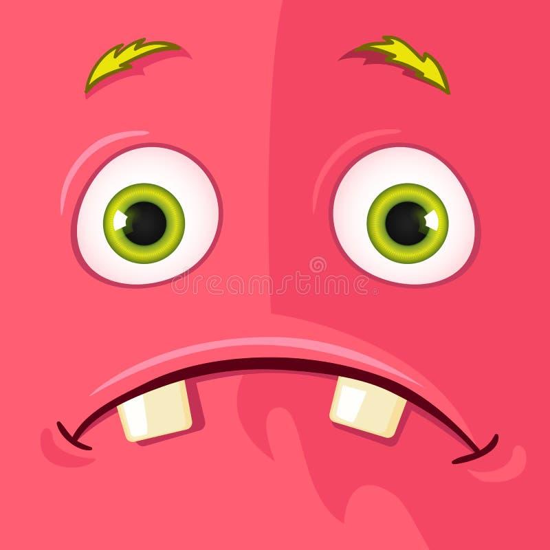 Monstruo Avatar ilustración del vector