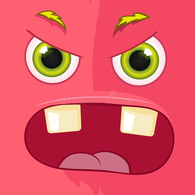 Monstruo Avatar stock de ilustración