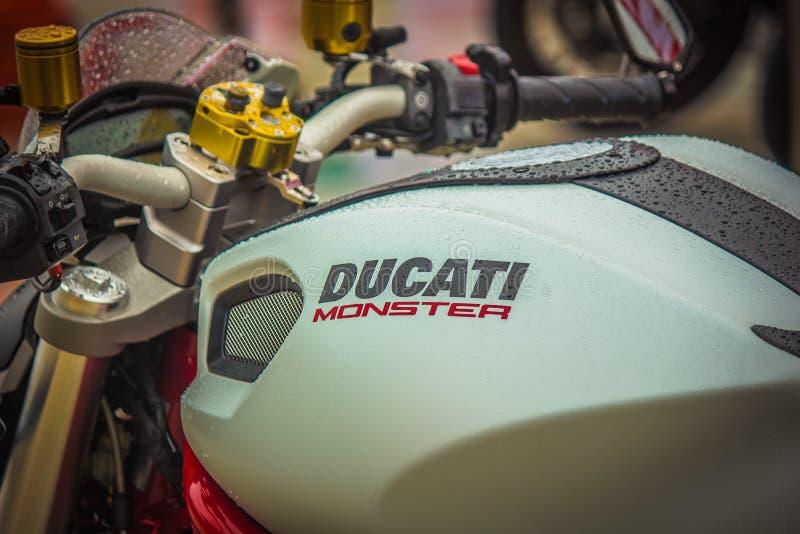 Monstruo de Ducati fotos de archivo libres de regalías