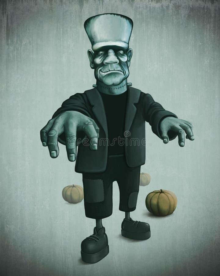 Monstruo de Halloween libre illustration