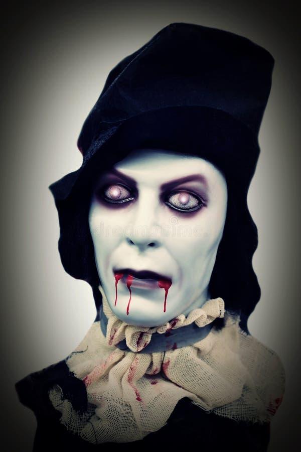 Monstruo de Halloween fotografía de archivo