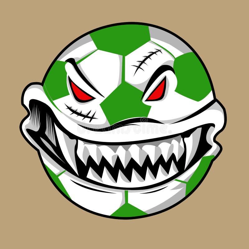 Monstruo de la bola de Halloween foto de archivo libre de regalías