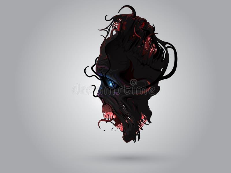 Monstruo del cráneo libre illustration