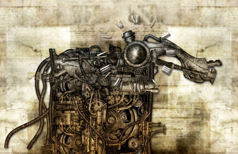 Monstruo del tiempo libre illustration