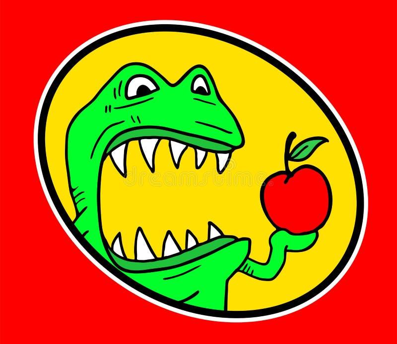 Monstruo hambriento ilustración del vector