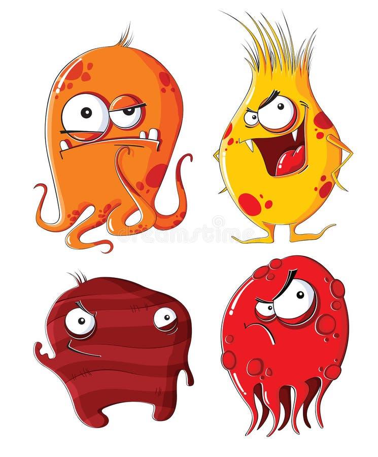 Monstruos malvados libre illustration