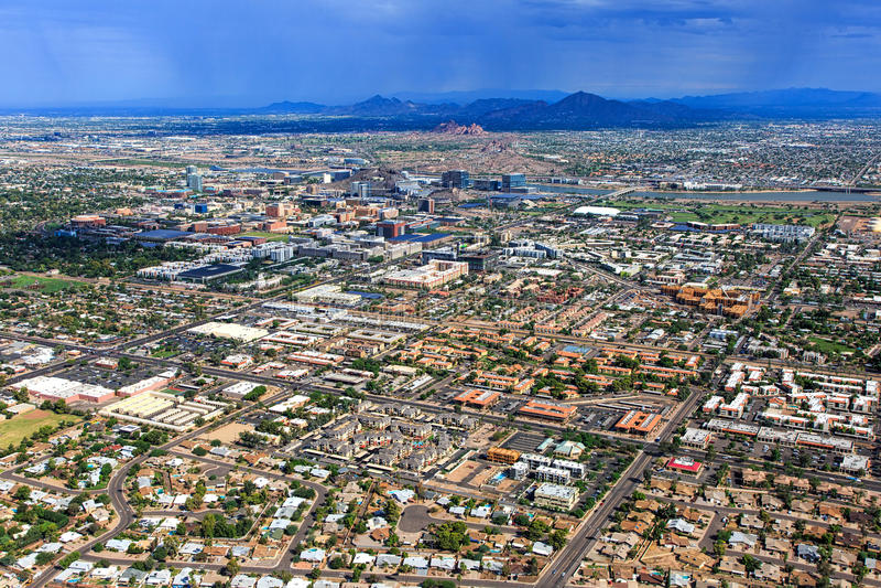 Monsun über der Wüste lizenzfreie stockfotografie