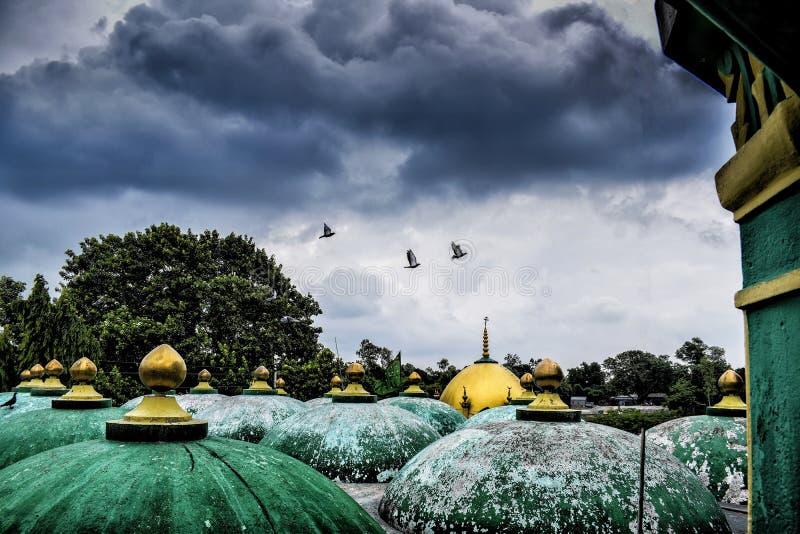 Monsun chmura obrazy royalty free