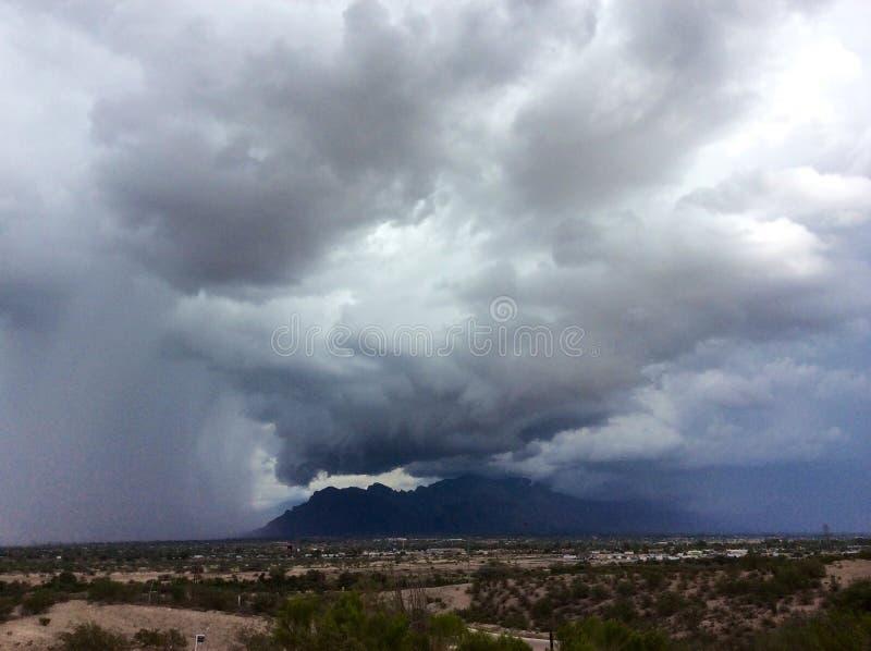 Monsun chmury zdjęcie royalty free