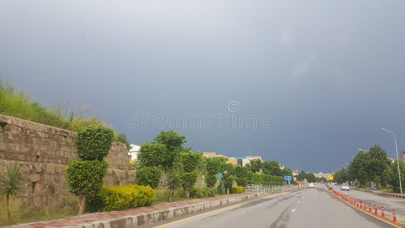 Monsun-Nachmittag lizenzfreie stockfotografie