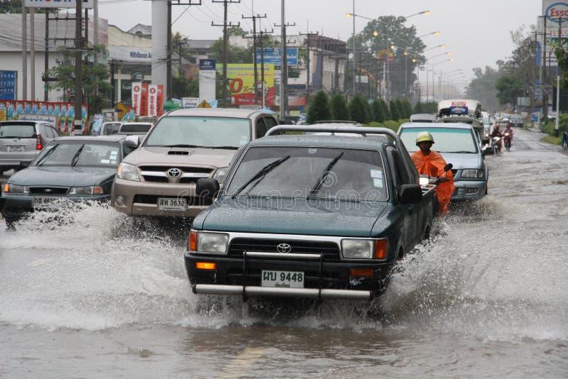 monsun podeszczowy Thailand obrazy royalty free
