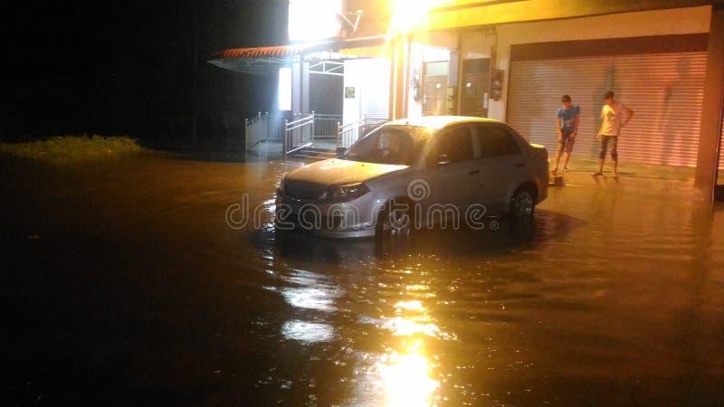 Monsun powódź zdjęcie royalty free
