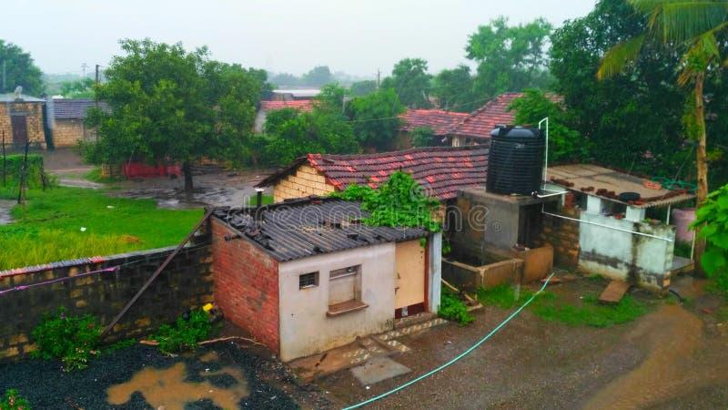 Monsunu czas fotografia stock