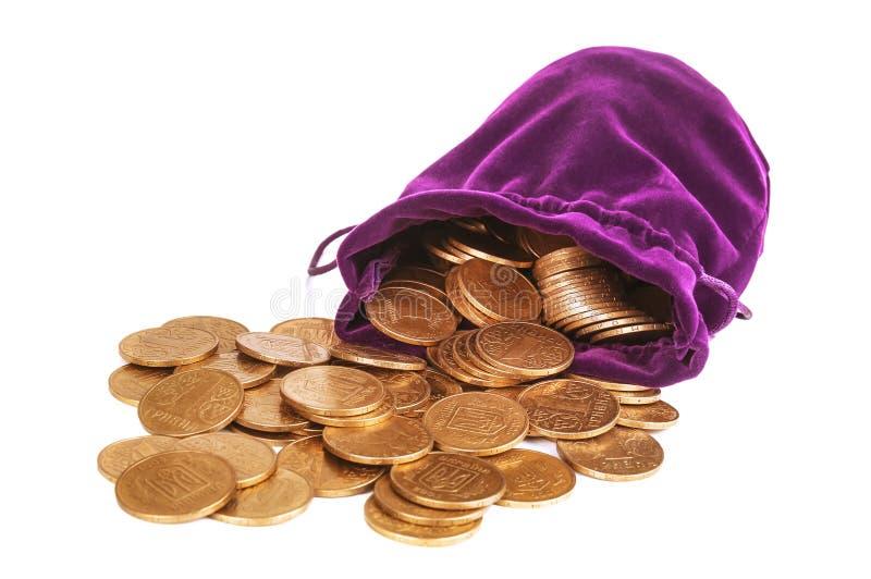 Montão das moedas foto de stock royalty free