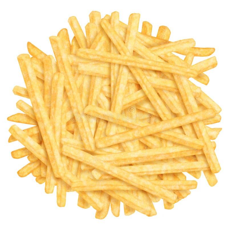 Montão de fritadas francesas imagem de stock royalty free