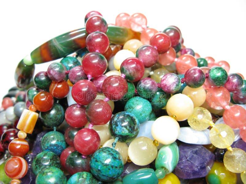 Montão de grânulos coloridos imagem de stock royalty free