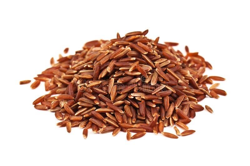 Montão do arroz vermelho imagens de stock royalty free