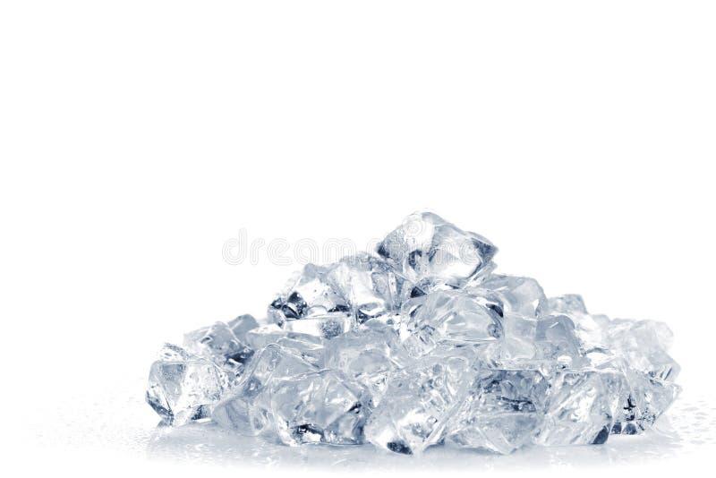 Montão do gelo esmagado imagem de stock royalty free